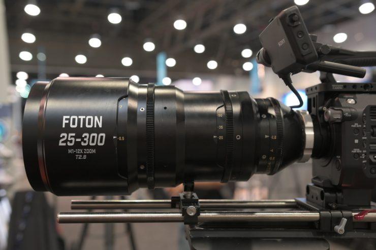 Foton Optics M1 25-300mm T2.8 Cine Zoom