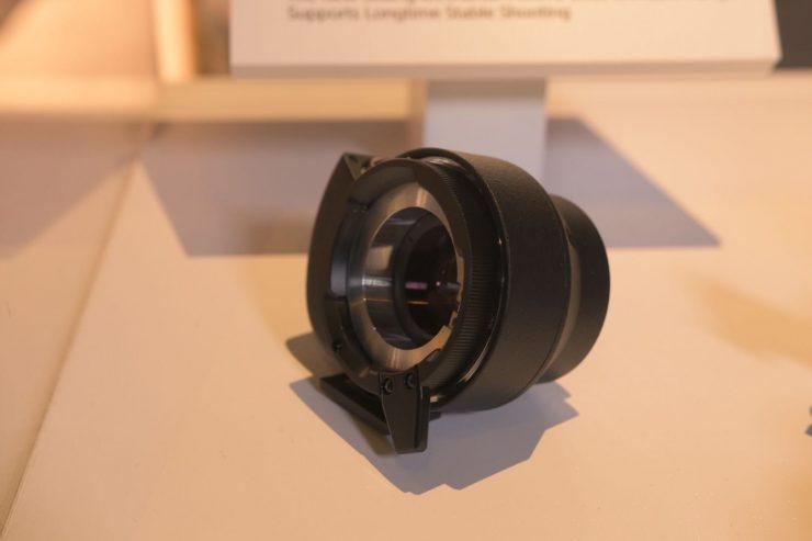 The Sony LA-EB1 E/B4 Mount Adaptor for FS7/FS7II