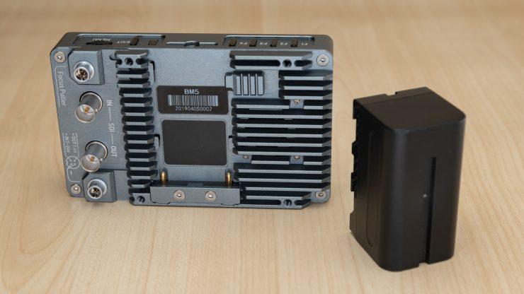 PortKeys BM5 Back and battery