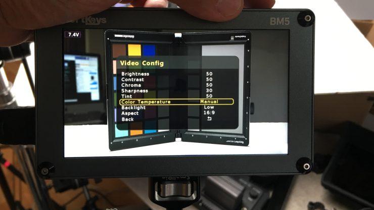 PortKeys BM5 Manul RGB settings MANUAL Temp