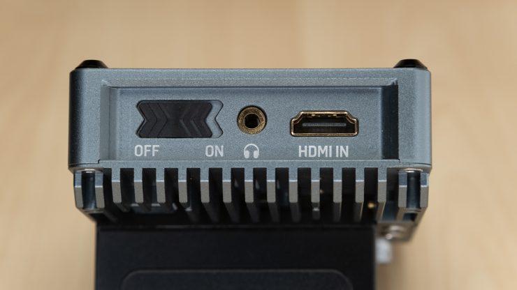 PortKeys BM5 Power HDMI in and power switch