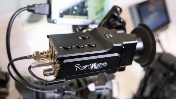Portkeys OEYE LED EVF presets