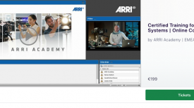 ARRI Certified Online Training for Camera Systems