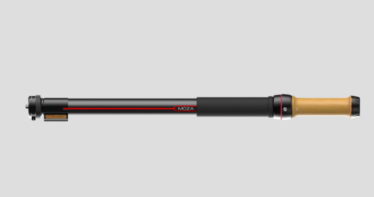 MOZA Slypod – world's first motorized monopod