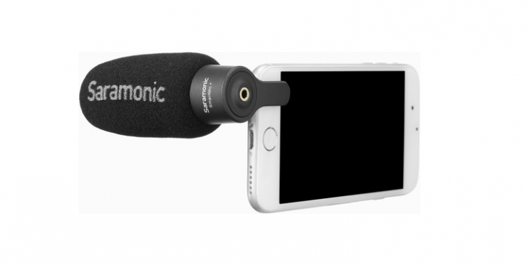 Saramonic announces new SmartMic+ Compact Directional Microphone