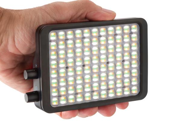 "Luxli Viola 2  5"" On-Camera RGBAW LED Light"