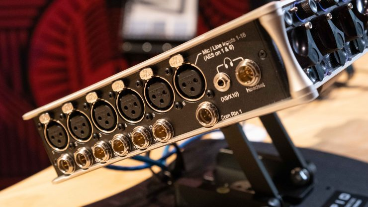 Sound Devices Scorpio Inputs left