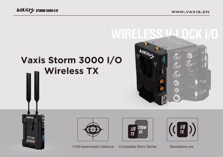 Vaxis Storm 3000 IO Wireless TX 4