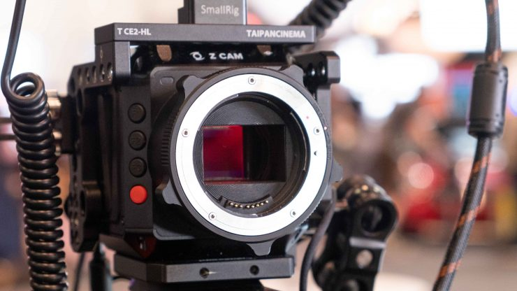 Z Cam E2 S6 Sensor