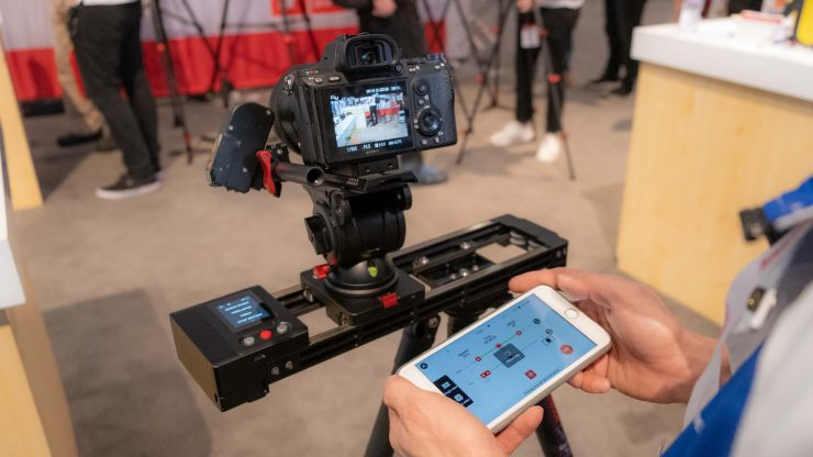 iFootage Shark Mini Nano App and slider
