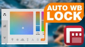 Auto Lock White Balance on Record FiLMiC Pro New Feature Tutorial