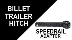 CineMilled Billet Trailer Hitch Speedrail Adaptor