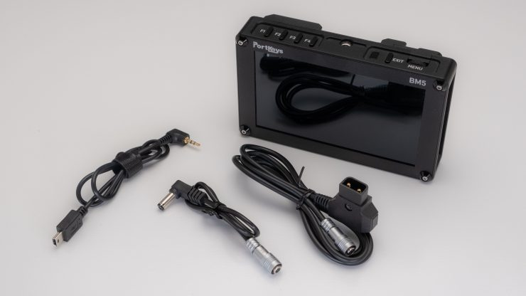 Portkeys BM5 Power cables 1