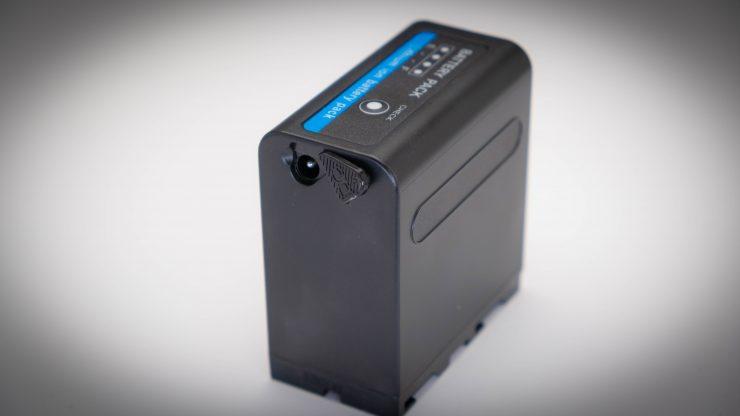 Portkeys BM5 Powerextra battery DC plug