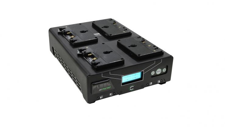 Core SWX Fleet Micro 3A Digital Quad Charger $599 USD deal