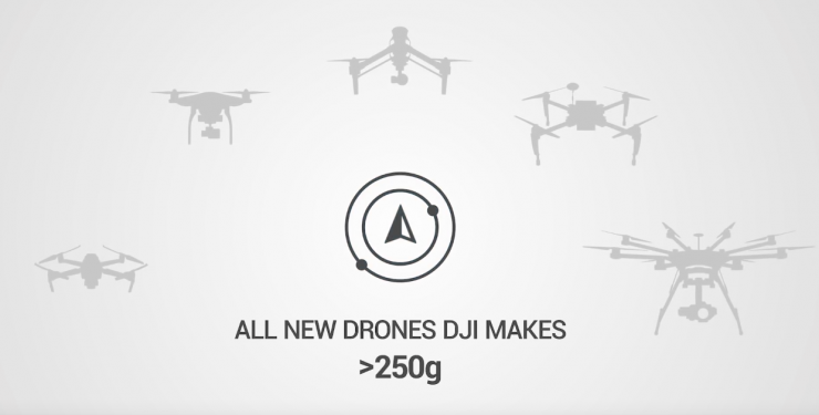 DJI to add Airplane and Helicopter Detectors to  Consumer Drones from 2020