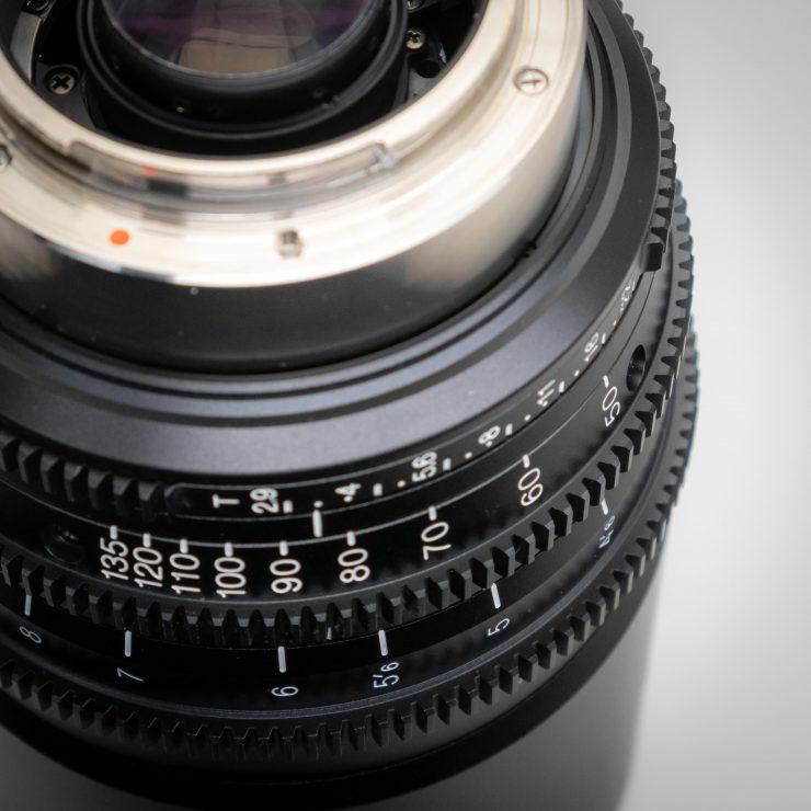 Tokina 50 135 MKII gears