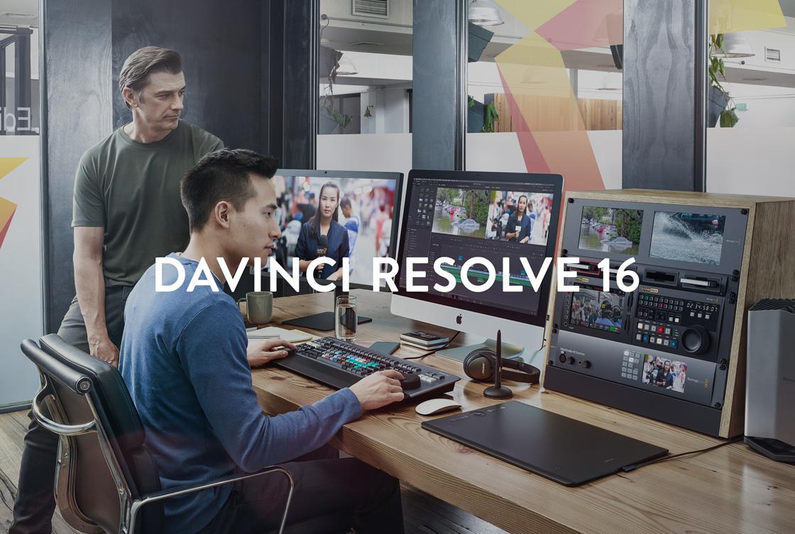 DaVinci Resolve 16 & Fusion 16 Beta 2 Released