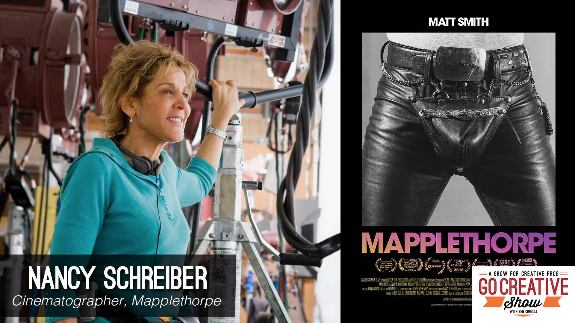 Mapplethorpe Cinematography with Nancy Schreiber - Newsshooter
