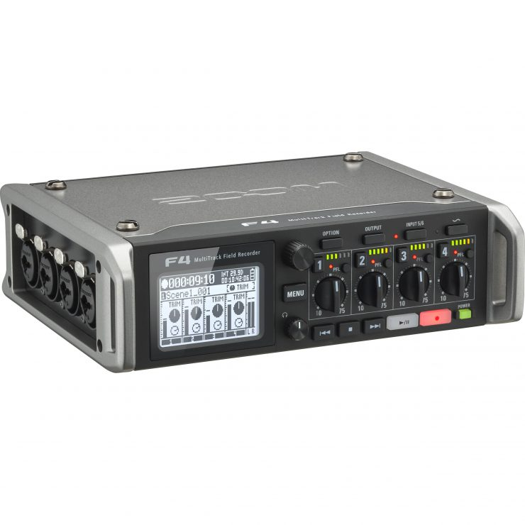 zoom zf4 f4 multitack field recorder 1260110
