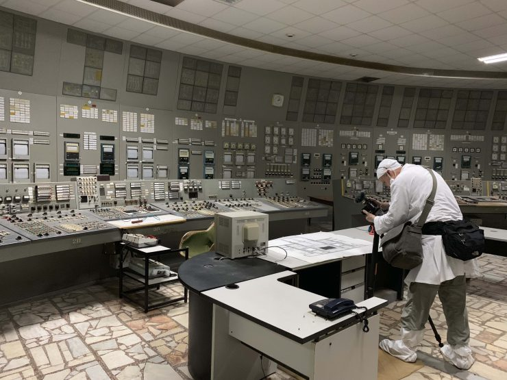 Andy Portch Chernobyl Block 3 Control room