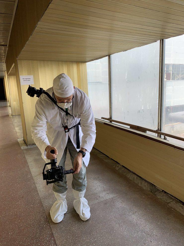 Andy Portch Chernobyl Golden Corridor