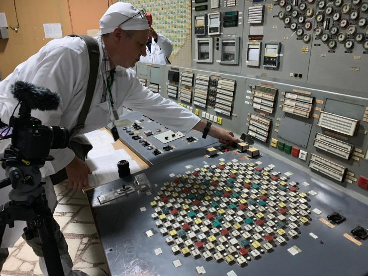 Andy Portch Chernobyl pressing AZ5 emergency button