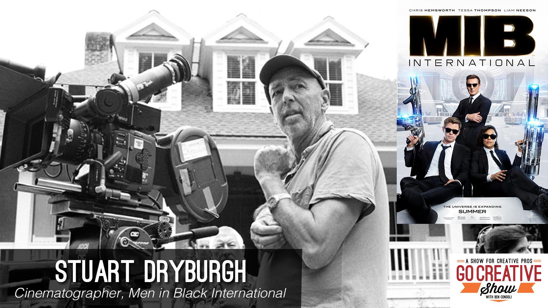 Men In Black International Cinematography with Stuart Dryburgh ASC