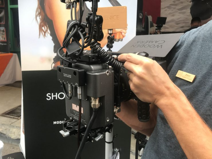 Wooden Camera Power Strip for Sony Venice Rialto - Newsshooter