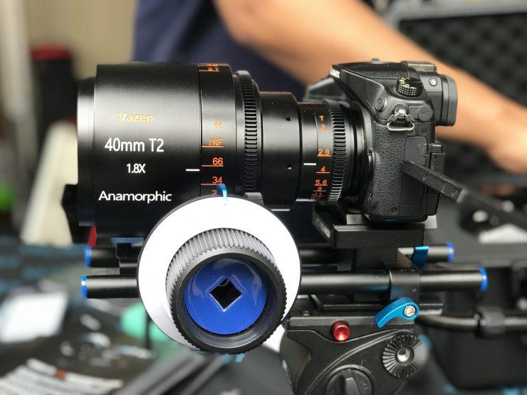 Vazen 1.8x Anamorphic For M43 cameras