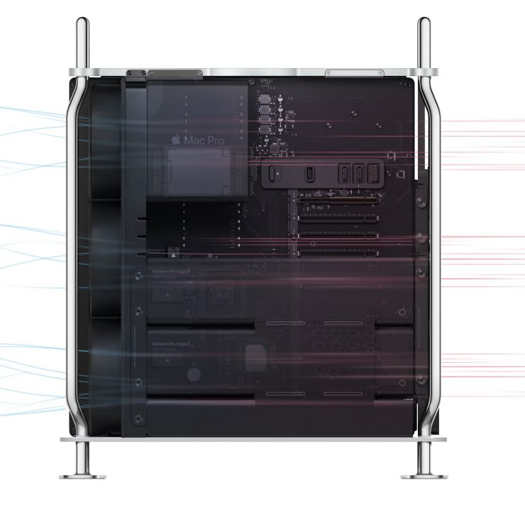 Mac Pro air flow