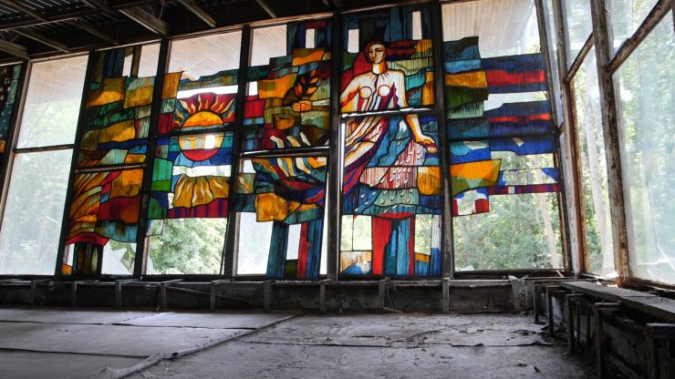 Pripyat stained Glass