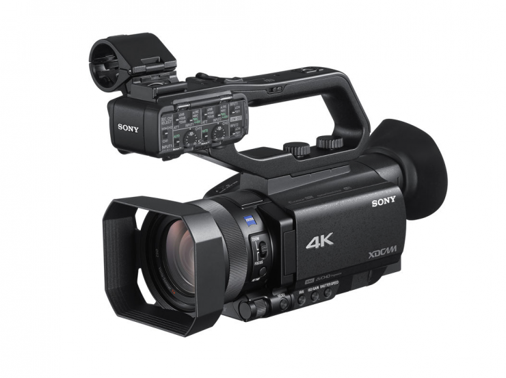 Sony announces Simple Live Streaming for HXR-NX80 & PXW-Z90 camcorders