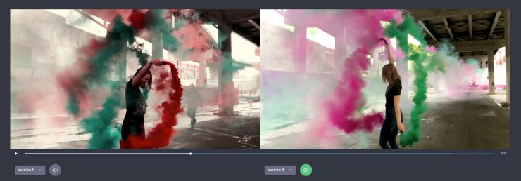Side by Side Color Change
