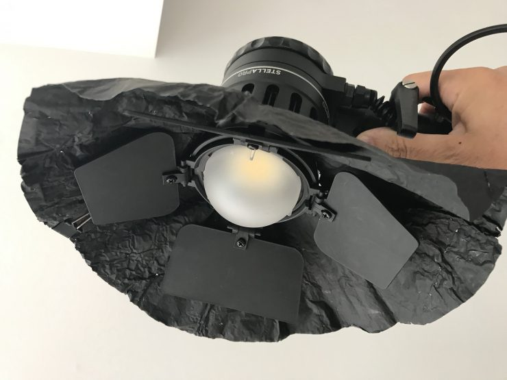StellaPro10000 Glowbulb and blackwrap