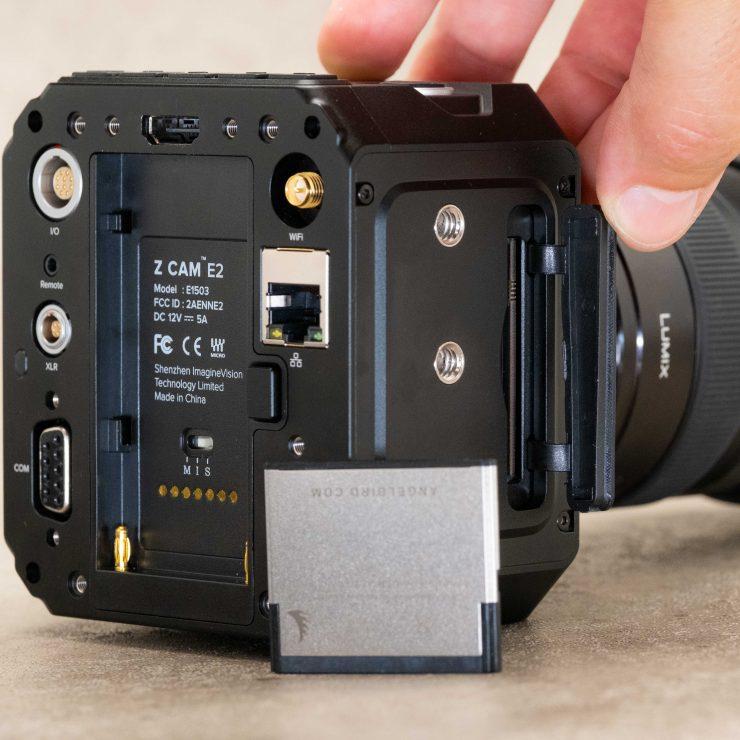 Z Cam E2 CFast Slot