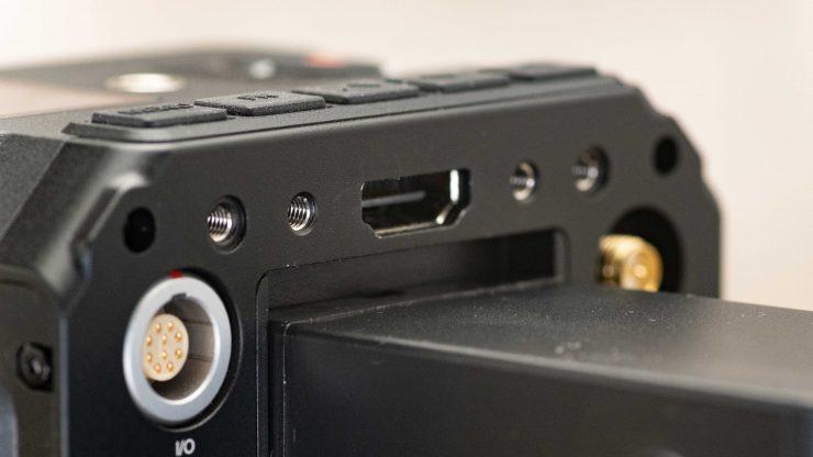 Z Cam E2 HDMI input 2