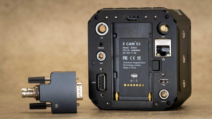Z Cam Timecode module