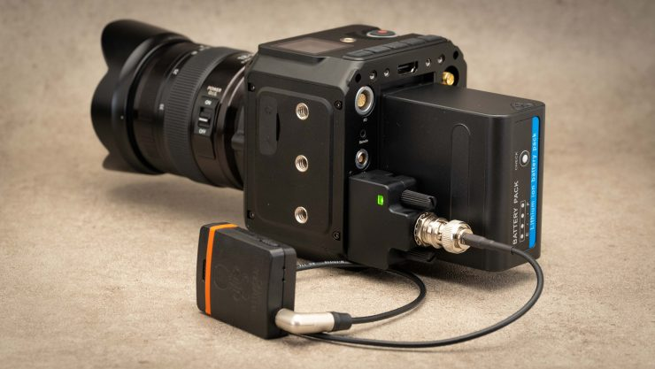 Z Cam Timecode module and Tentacle Sync