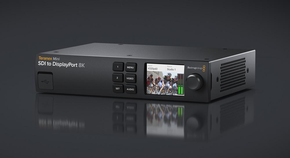 Blackmagic Design Announces New Teranex Mini Sdi To Displayport 8k Hdr Newsshooter