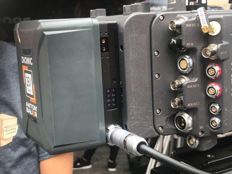 wooden camera 26v back plate