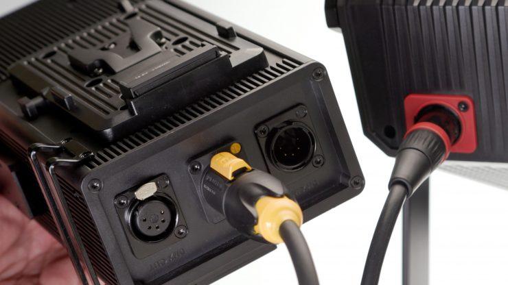 Aputure 300d II Cable connectors