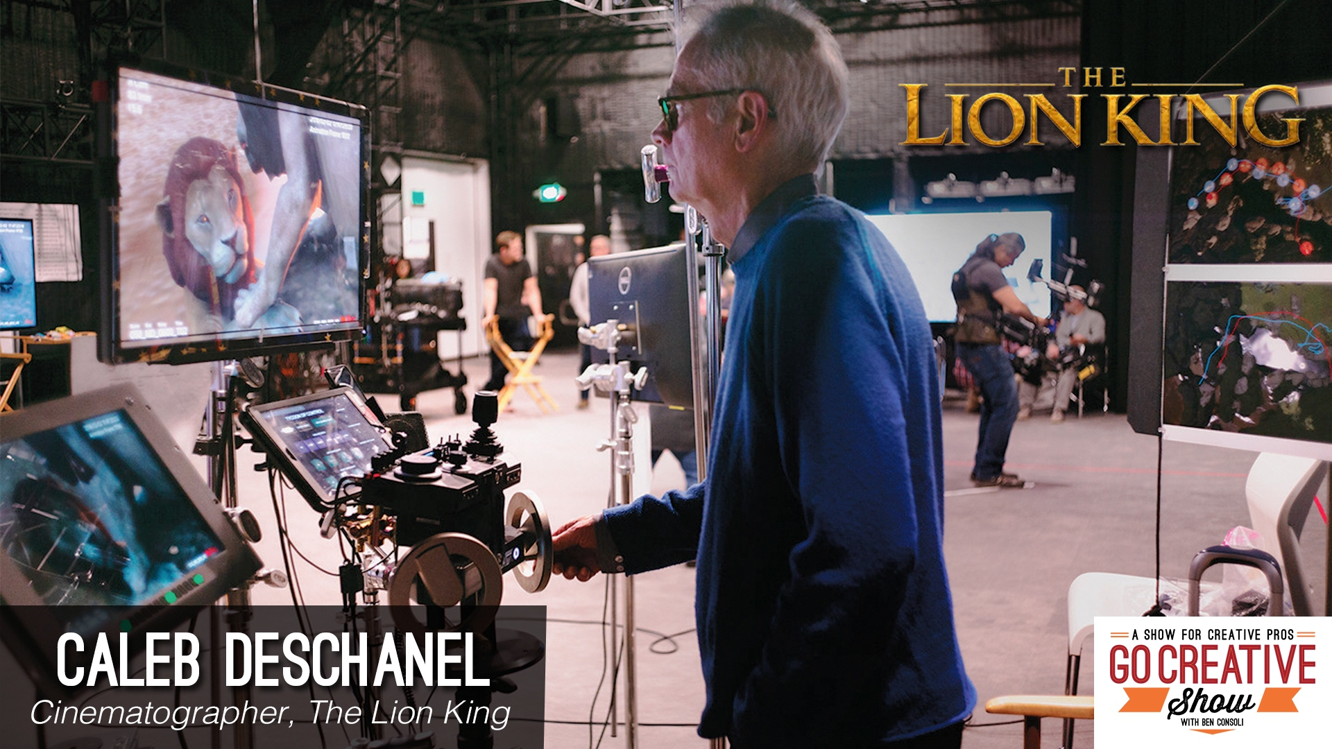 The Lion King and Virtual Filmmaking (with Caleb Deschanel)