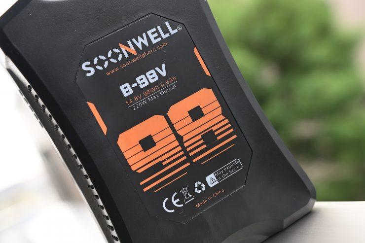 Soonwell B-98V V Mount Battery review