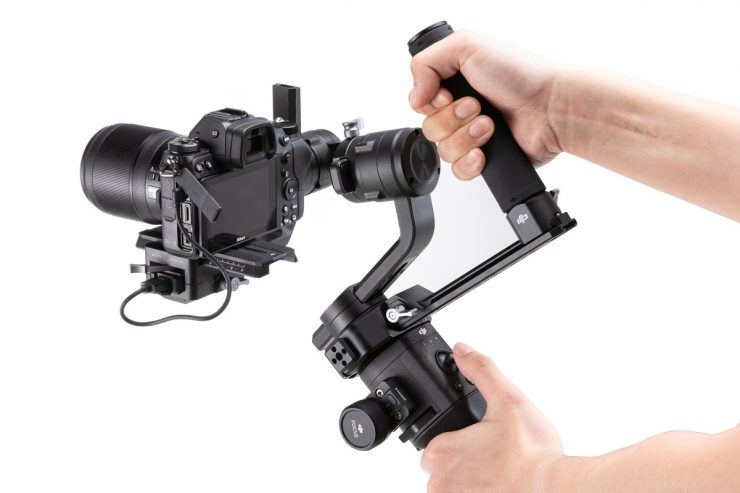 Dji Ronin S Switch Grip Dual Handle Newsshooter