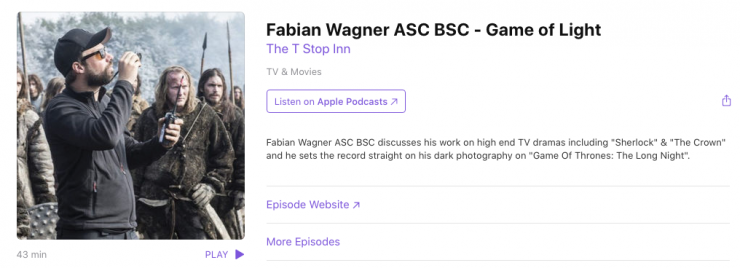 """Game of Thrones DP Fabien Wagner talks about """"that"""" episode"""