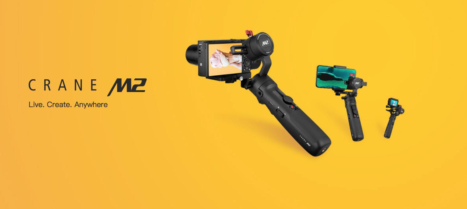 Zhiyun Announces CRANE-M2