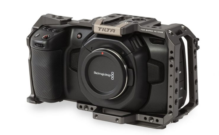 Tilta BMPCC 4K cages & accessories are finally about to ship