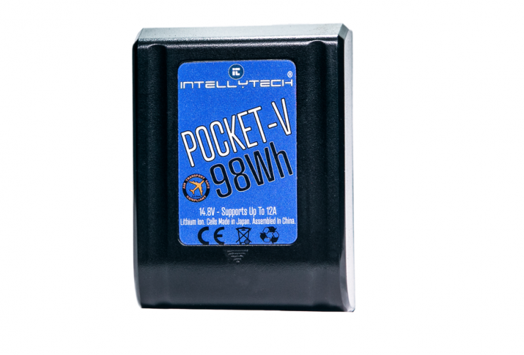 Intellytech POCKET-V: Miniature 98Wh V-Mount Battery System - Newsshooter