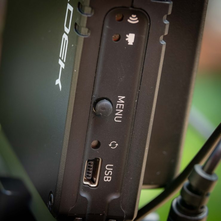 Teradek ACE 500 Menu button
